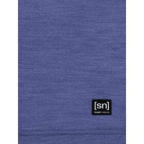 super.natural Printed Koszulka Kobiety, coastal fjord melange/blue iris camping jar